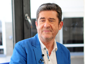 El periodista Carlos Santos.